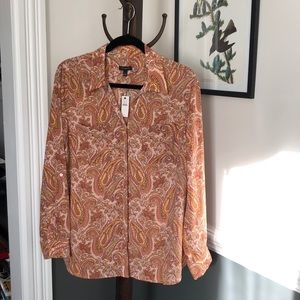 New Talbots blouse
